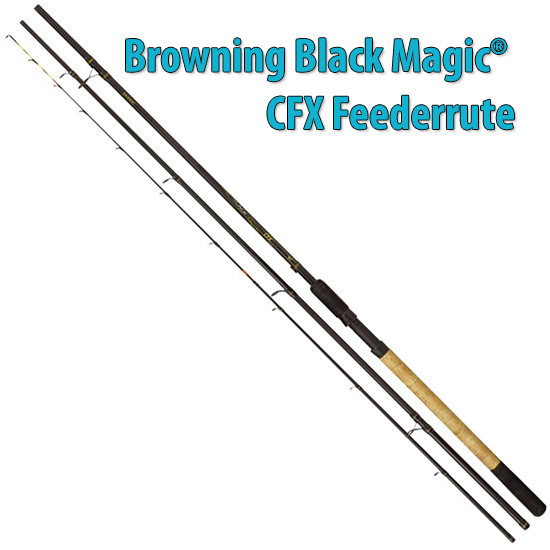 3,60m 12' Browning Black Magic® CFX Feeder M 40g 80g,4lbs 10lbs